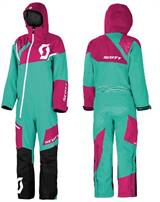 Scott Monosuit DS, dame Teal/Rubin